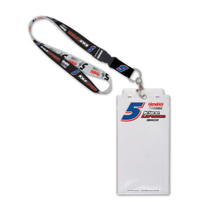 Kyle Larson Credential Holder w/ Lanyard