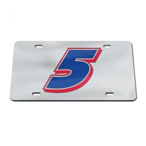 Kyle Larson Acrylic License Plate