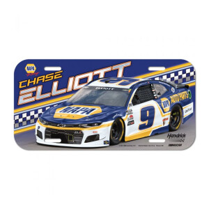 Chase Elliott Acrylic License Plate
