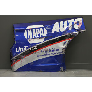 Race Used 2020 Chase Elliott #9 NAPA Darlington Throwback Right Quarter Panel
