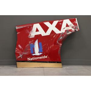 Race Used 2019 Alex Bowman #88 Axalta Darlington Throwback Right Quarter Panel