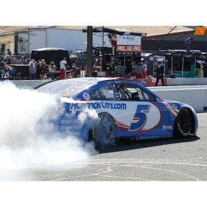 Autographed Kyle Larson 2021 NASCAR Sonoma Race Win 1:24 ELITE Die-Cast
