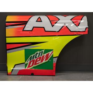 Race Used 2017 Dale Earnhardt Jr. #88 Axalta Partial Quarter Panel
