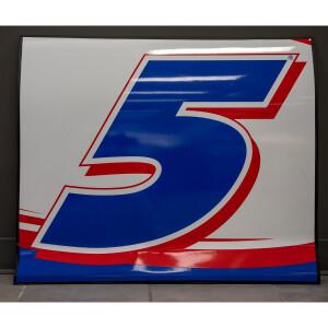 Race Used 2021 Kyle Larson #5 Hendrickcars.com Door Panel