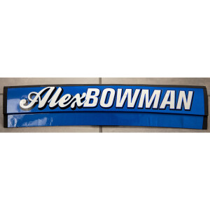 Race Used Alex Bowman #88 Nationwide Namerail