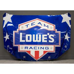 Race Used 2010 Jimmie Johnson #48 Lowe's Patriotic Coca-Cola 600 Hood