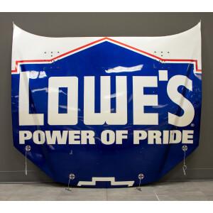 Race Used 2007 Jimmie Johnson #48 Lowe's Power of Pride Charlotte Hood