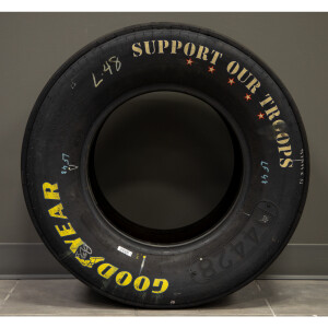 Race Used 2014 Jimmie Johnson #48 Support Our Troops Coca-Cola 600 Win Tire