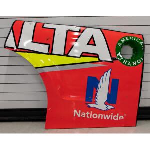 Race Used 2017 Dale Earnhardt Jr. #88 Axalta Quarter Panel