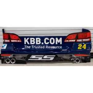 Race Used 2017 Chase Elliott #24 Kelley Blue Book Rear Fascia Sonoma