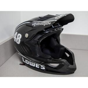 Race Used 2013 #48 Lowe's/Kobalt Pit Helmet