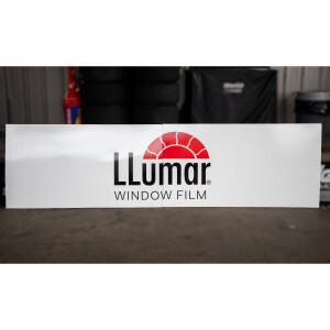 Race Used 2018 No. 88 Llumar Pit Box Fascia Board