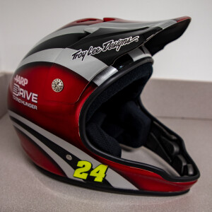 Race Used 2012 No. 24 AARP Drive to End Hunger Pit Helmet
