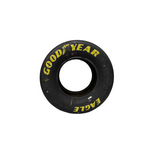 Race Used 2021 Kyle Larson No. 5 Watkins Glen Win Tires