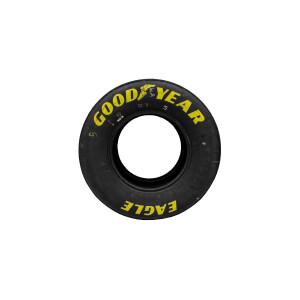 Race Used 2021 Kyle Larson No. 5 Watkins Glen Win Victory Lane Tires