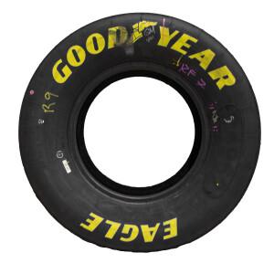 Race Used 2021 Chase Elliott No. 9 Bristol Tire