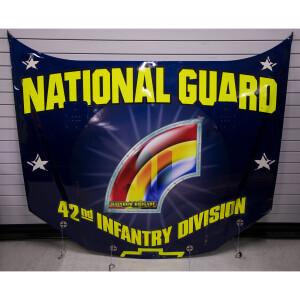 Race Used 2007 Casey Mears No. 5 National Guard Busch Series Hood - Watkins Glen