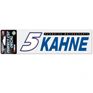 "Kasey Kahne Perfect Cut Decal - 3"" x 10"""