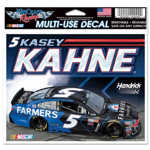 "Kasey Kahne Multi-Use Colored Decal - 5"" x 6"""