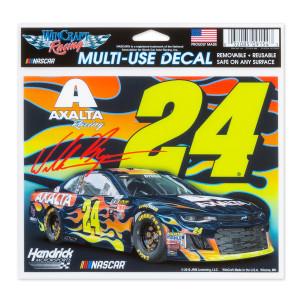"""William Byron #24 2018 NASCAR Multi-Use Decal - 5"""" x 6"""""""
