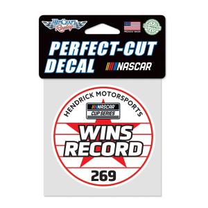 "Hendrick Motorsports 269 4"" x 4"" Perfect Cut Decal"