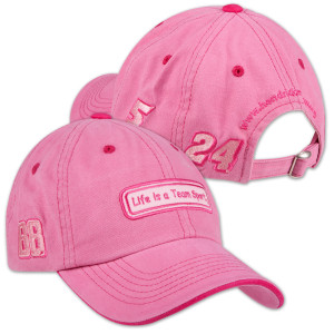 Life is a Team Sport Pink Hat