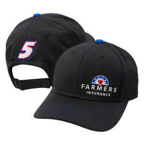 Kasey Kahne #5 Official 2017 Team Hat - Farmers Insurance