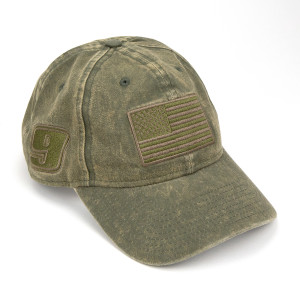 Chase Elliott NASCAR #9 9Twenty New Era Military Washed Hat