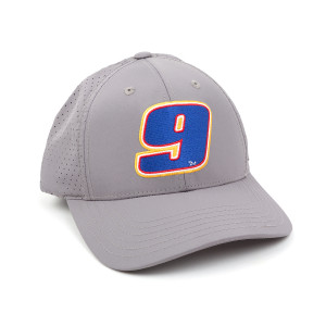 Chase Elliott #9 2019 NASCAR Light Grey Number Hat