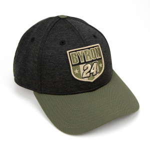 #24 William Byron 2019 NASCAR New Era Military Salute Hat