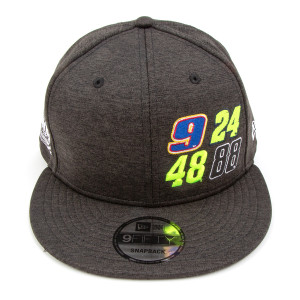 Hendrick Motorsports 4-numbers Charcoal New Era 9FIFTY Hat
