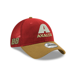 920 Trucker Bowman Ax Scar Gold Hat