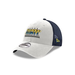 Chase Elliott #9 2021 White Checked Trucker Hat