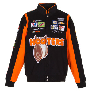 Chase Elliott #24 Hooters Cotton Twill Driver Jacket