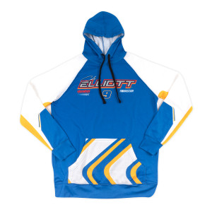 Chase Elliott #9 2020 Long Sleeve Sublimated Hoodie