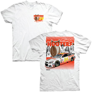 Chase Elliott Hooters Adult Racer T-shirt