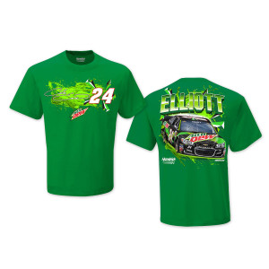 Chase Elliott #24 2017 Mountain Dew T-shirt