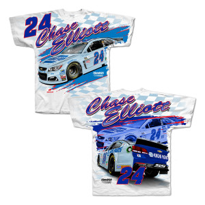 Chase Elliott 2017 #24 Darlington Total Print T-shirt