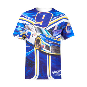 Chase Elliott #9 Prism Sublimated Driver T-shirt