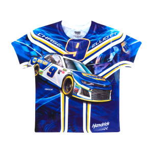 Chase Elliott #9 Youth Sublimated Driver T-shirt