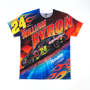 William Byron #24 Prism Sublimated Driver T-shirt
