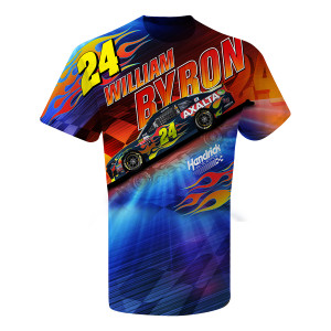 William Byron #24 Axalta Total Print T-shirt