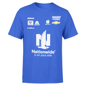 Alex Bowman NASCAR #88 Nationwide Uniform T-shirt