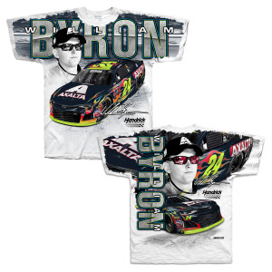 William Byron #24 2018 Total Print T-shirt