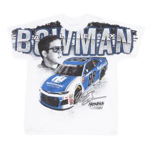 Alex Bowman #88 2018 Nationwide/Axalta Total Print T-shirt