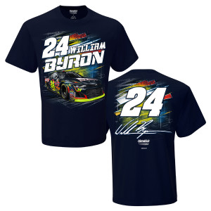 William Byron #24 2018 Axalta Torque 2-Spot T-shirt