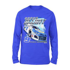 Chase Elliott #9 2018 NAPA L/S 2-Spot T-shirt