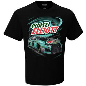 Chase Elliott #9 2018 NASCAR Mtn Dew Baja Blast T-shirt