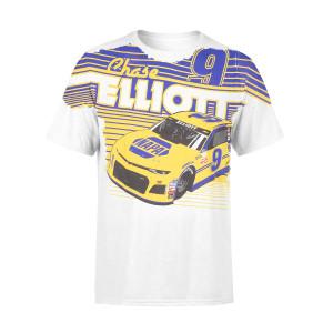 Chase Elliott #9 2018 NASCAR NAPA Total Print T-shirt