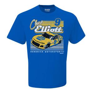 Chase Elliott #9 2018 NASCAR NAPA Retro Car T-shirt